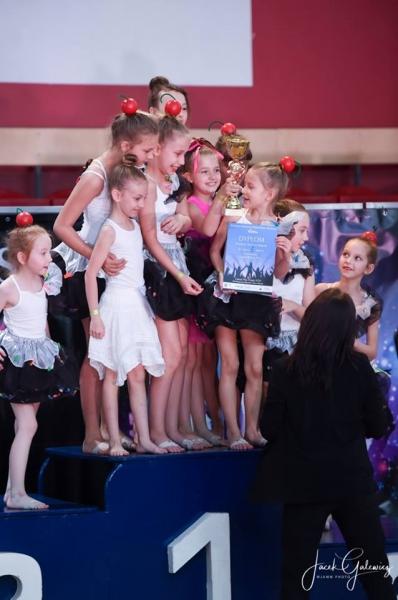 Kolejne sukcesy tancerek Dance4Kids