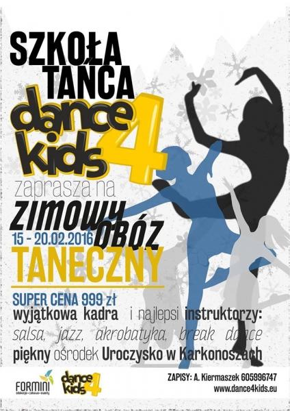 OBÓZ TANECZNY z Dance4Kids
