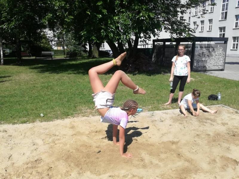 Akrobacje przez wakacje :)