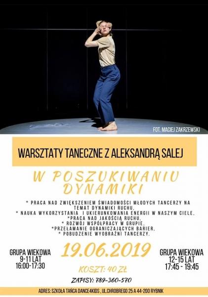 Ola Salej w Dance4Kids!