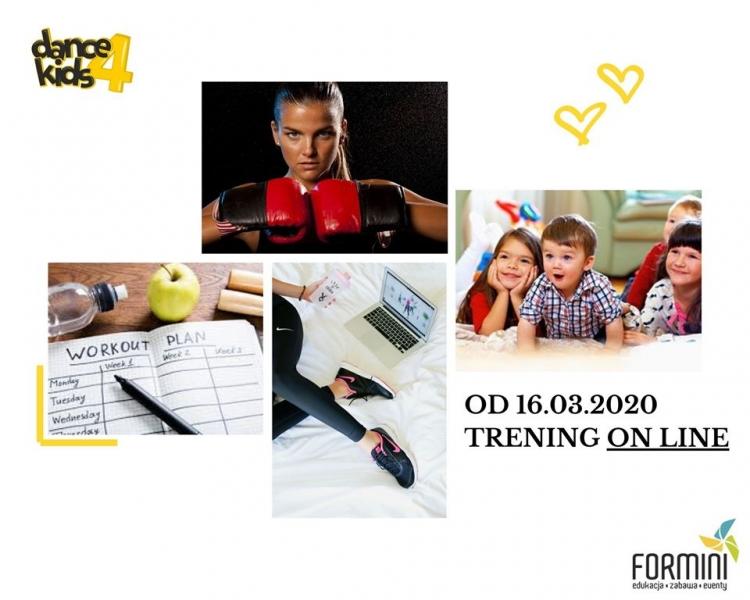 Formini i Dance4Kids on-line!