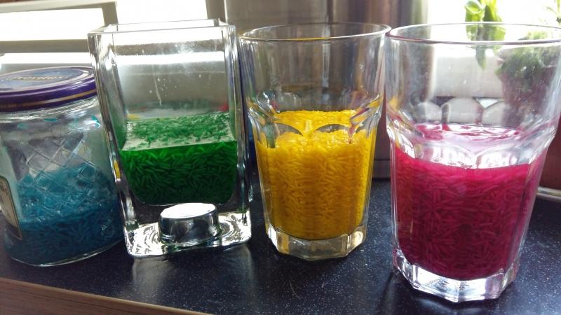 Kolorowy ryż :)
