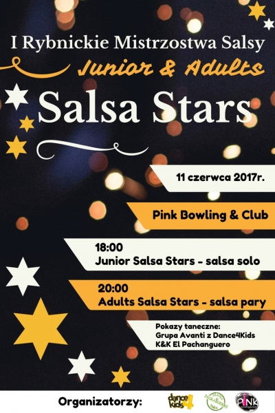 I Rybnickie Mistrzostwa Salsy - Junior&Adults Salsa Stars 2017